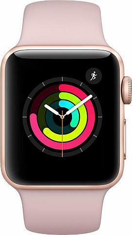 APPLE Watch Series 3 GPS Aluminiumgehäuse 38...