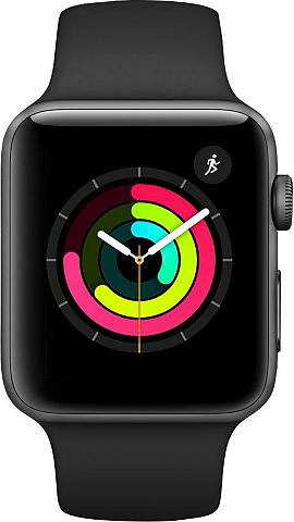 APPLE Watch Series 3 GPS Aluminiumgehäuse 42...