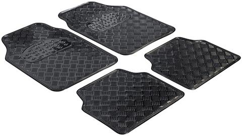 WALSER Automobilių kilimėliai »Metallic« 4 da...