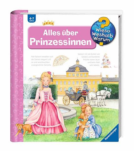 RAVENSBURGER Knyga vaikams »Alles über Prinzessinne...