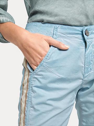 Siaurėjančios kelnės su Zierband-Appli...