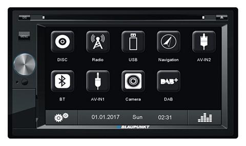 BLAUPUNKT 2-DIN CAR Procesorius DVD-Player BLUET...
