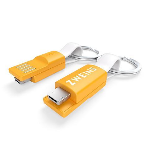 ® 2-in-1 Įkrovimo kabelis-raktų pakabu...