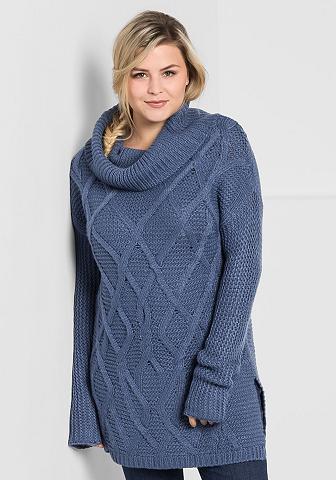SHEEGO CASUAL Sheego Megztinis aukštu kaklu