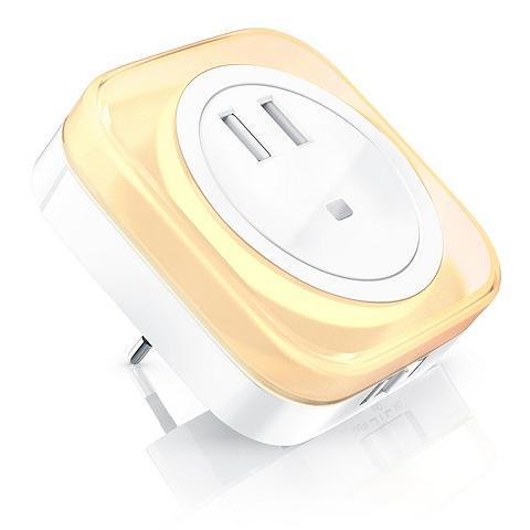 BEARWARE LED naktinė lempa su Dual USB laikmena...