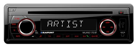 BLAUPUNKT 1-DIN Auto magnetola su CD grotuvas BL...