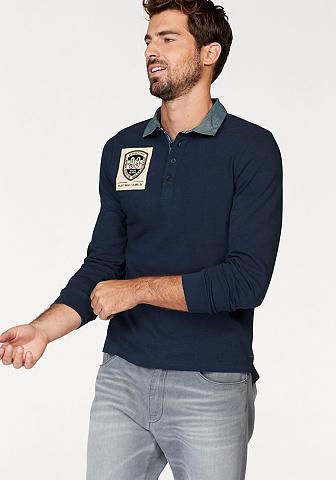 RHODE ISLAND Polo marškinėliai ilgomis rankovėmis