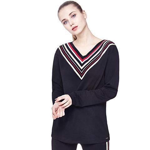 Sportinio stiliaus megztinis Dryžuotas...