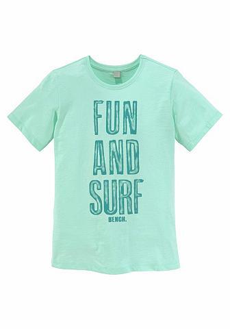 BENCH. Marškinėliai »FUN AND SURF«