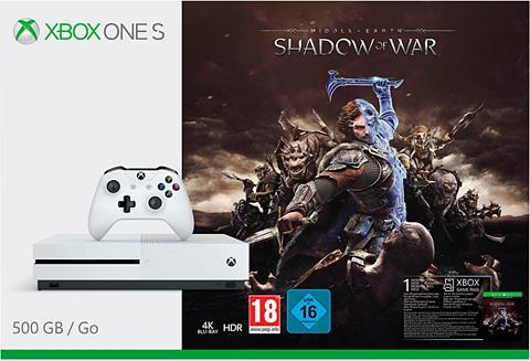 XBOX ONE S 500GB + Shadow of War 4K Ultra HD