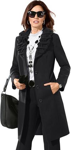 LADY Trumpas paltas su nuimamas Blütenbrosc...