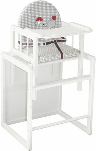 Medinė maitinimo kėdutė-stalas »Adam i...