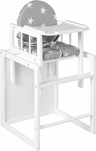 ROBA Medinė maitinimo kėdutė-stalas su stuf...