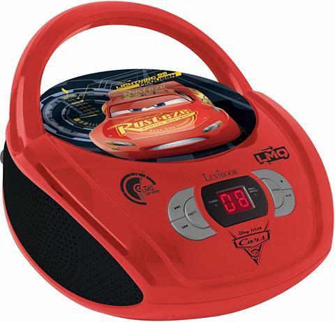 LEXIBOOK Radio CD grotuvas »Disney Pixar Cars 3...