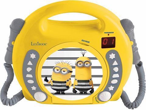 LEXIBOOK CD grotuvas su 2 Mikrofonen »Minions«