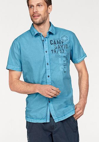 CAMP DAVID Marškiniai trumpom rankovėm