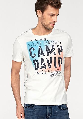 CAMP DAVID Marškinėliai
