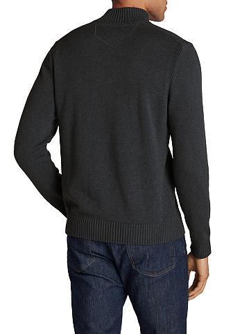 EDDIE BAUER Megztinis stačia apykakle iš Feinstric...