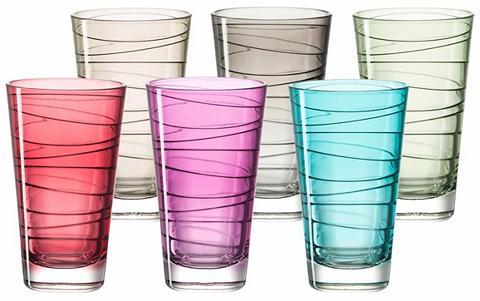 LEONARDO Stiklinių rinkinys 6 vnt. »Colori«