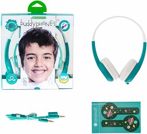 BUDDYPHONES? ? Vaikiškos ausinės »Explore grün«