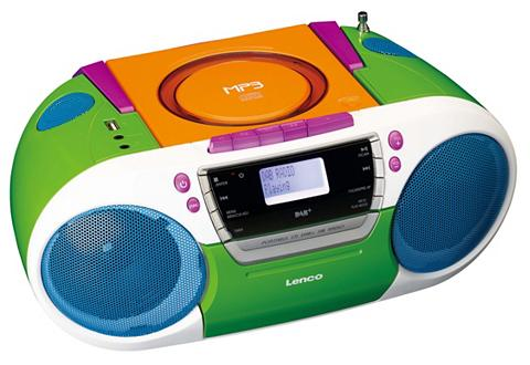 LENCO Tragbare Boombox su DAB+ Radio - CD/MP...