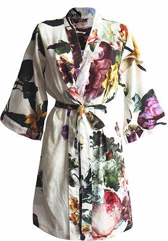 Kimono »Fleur« su marginta gėlėmis