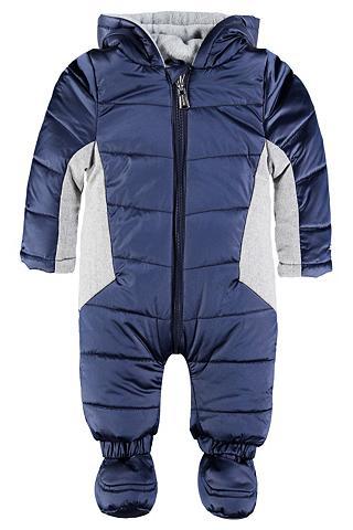 Baby Žieminis kostiumas su dėmės gobtu...