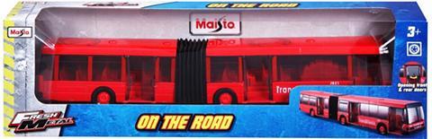 MAISTO ® Modellauto »Fresh Metal Gelenkbus«