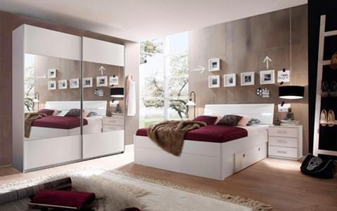 Miegamojo kambario komplektas (3-tlg. ...
