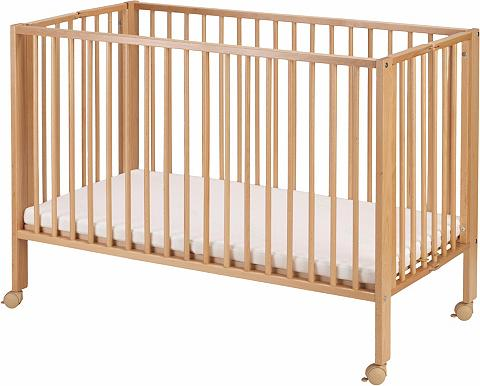 TISSI ® lovytė kūdikiui »Buche Natur«