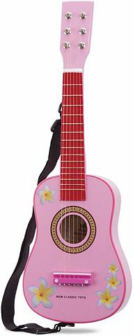 NEW CLASSIC TOYS Vaikiška gitara (10348) »Basic pink«