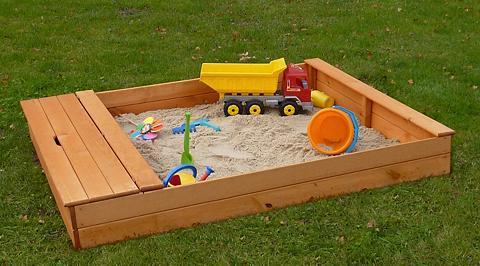 PROMADINO Smėlio dėžė »MULTI« BxL: 140x172 cm