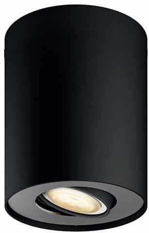 PHILIPS HUE LED šviestuvas Pillar juoda spalva 1fl...
