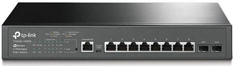 TP-LINK Šakotuvas »T2500G-10MPS 8-Port Gigabit...
