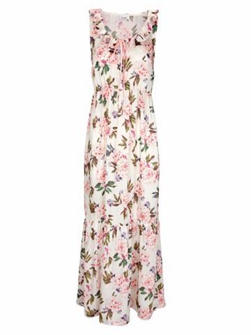 heine CASUAL Ilga suknelė su marginta gėlėmis