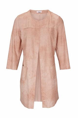 heine CASUAL Dirbtinės odos paltas su 3/4 ilgio ran...