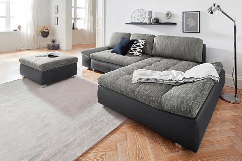 SIT&MORE Sit&more Kampinė sofa »Fabona« patogi ...
