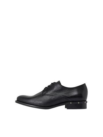 Nieten-Effekt- Derby-Schuhe