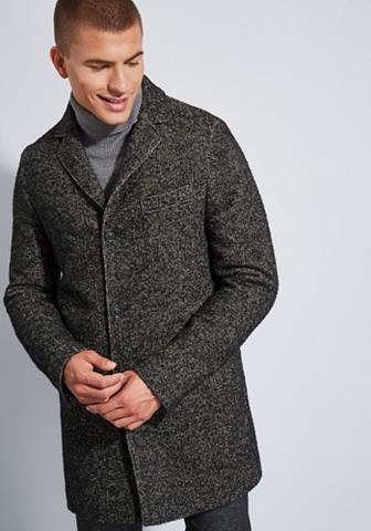 Vilnonis paltas Fischgrat-Muster