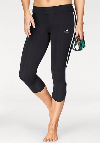 ADIDAS PERFORMANCE Bėgimo kelnės »RESPONSE 3/4 3STRIPES i...