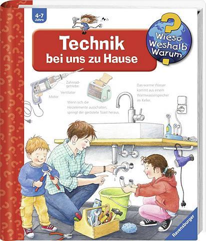 RAVENSBURGER Knyga vaikams »Technik bei uns zu Haus...