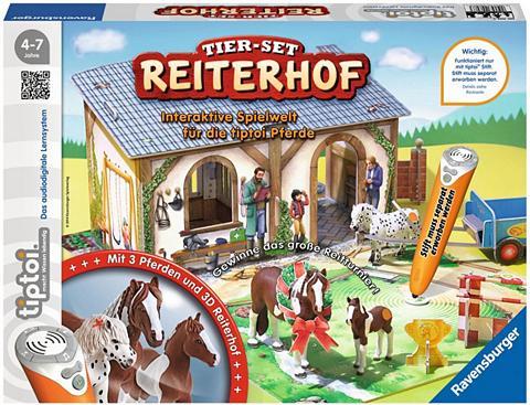 RAVENSBURGER Žaislų rinkinys »tiptoi® Tier rinkinys...