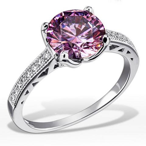 Moteriškas žiedas 925/- Silber 20 weiß...
