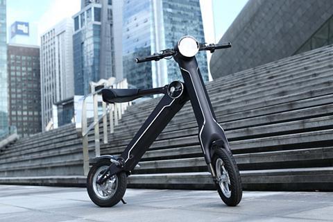 / Horwin - sudedamas Elektro-Scooter s...