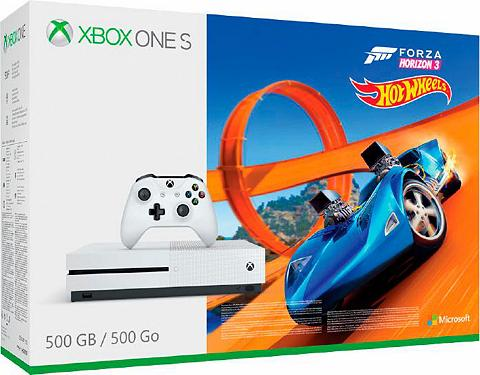 XBOX ONE S 500GB + Forza Horizon 3 + Hot Wheels...