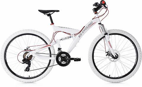 KS CYCLING Kalnų dviratis »Topspin« 21 Gang Shima...