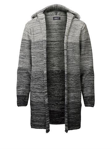 MEN PLUS BY HAPPY SIZE Ilgas megztinis su gobtuvas