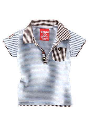 BONDI Marškinėliai Vaikiški su sagos