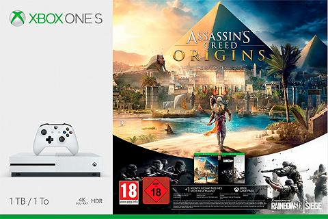 XBOX ONE S 1TB - Assassins?s Creed Origins (DLC...