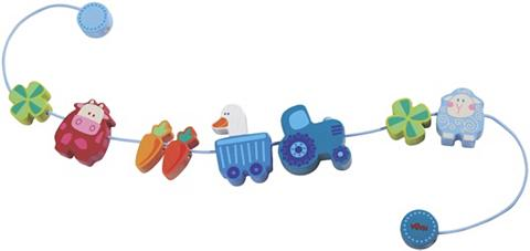 HABA ® Žaislas ant vėžimėlio »Muh ir Mäh«